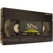 Оцифровка видеокассет форматов VHS, S-VHS фото