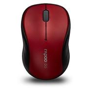 Коммутатор Rapoo Wireless Mouse 3000p Red, Mid Level, 5,8Ггц Win, Mac, 1000 DPI фото