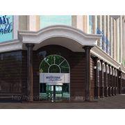 Дизайн экстерьера (фасада) входной группы фото