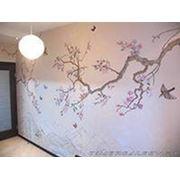 Роспись стен и потолков фото