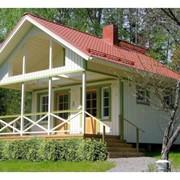 Каркасный дом с сауной фото