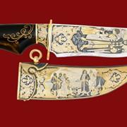 Нож Иван Калита 357*170*46*4 фото