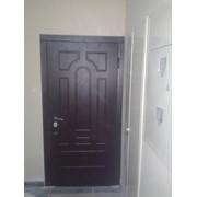 Двері Броньовані квартирні з МДФ фото