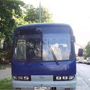 Запчасти для автобуса Hyundai aero town
