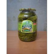 Огурцы консервированные 1л СКО фото