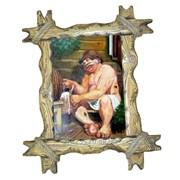 Картина для бани Предвкушение фото