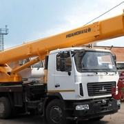 Аренда автокрана 25 тонн, стрела 28 метров.  фото
