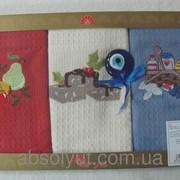 Салфетки ARYA Kitchen Towels Sunny 50х70 см. 3 шт. 1500131 фото