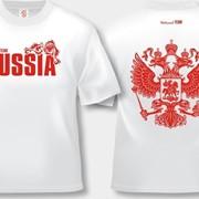 Футболка Россия купить в Челябинске фото