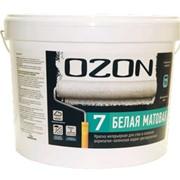 Краска 0,9 л OZON 7 база С интерьерная матовая ВДАК 233 фото