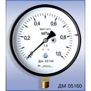 Манометр виброустойчивый ДМ 05100 - 1,6 МПа - 1,5 - 05 М - Г ТУ У 33.2-14307481-031:2005 фото