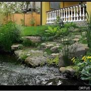 Устройство водоемов, водопадов, водных садов, фонтанов фото