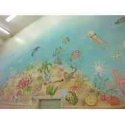 Роспись стен в саунах и бассейнах