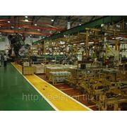 Посещение моторного завода фото