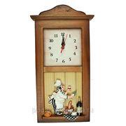 """Коллаж-часы """"Пекарь"""" 21*40*5см 32470 фото"""