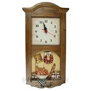 """Коллаж-часы """"Французская сдоба"""" 32463 фото"""
