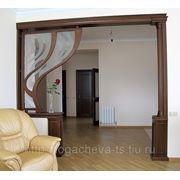 Декоративные элементы интерьера из дерева на заказ фото