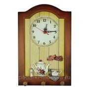"""Коллаж-часы """"Розы"""" 32485 фото"""