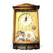 """Коллаж-часы """"Цветы"""" 32287 фото"""