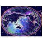 """Стандартное флуоресцентное полиэстровое полотно-обои """"Celestial"""" фото"""