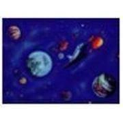 Стандартное флуоресцентное полиэстровое полотно-обои «Шаттл» фото