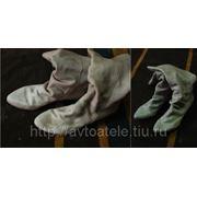 Реставрация кожаной обуви фото