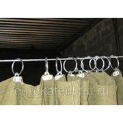 Брезентовая штора (водостойкая -огнестойкая) фото