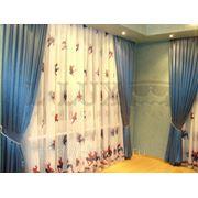 Шторы для детской комнаты. фото