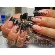 Моделирование ногтей гелем фото