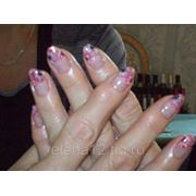 Покрытие ногтей биогелем фото