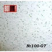 Жидкие обои каталог № 100 G-7 белый с зеленым блеском фото