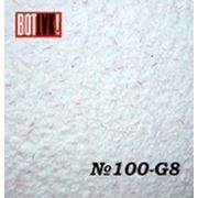 Продажа жидких хлопковых обоев № 100 G-8 белый с красной соломкой фото