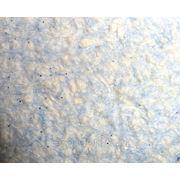 Жидкие обои KOZA № К11 Нежно-голубой, с белыми просветами и блестками-серебро фото