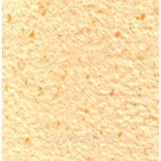 Жидкие обои из хлопка 703 Персиковый с оранжевыми вкраплениями фото