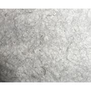 Жидкие обои KOZA № К12 Светло-серые, с белыми просветами и блестками-серебро фото