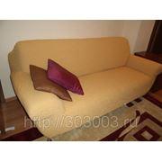 Чехол Модерн Охра на 3-х местный диван