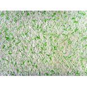 ЖИДКИЕ ОБОИ CASAVAGA Датская штукатурка № 20 Белый с зелеными крапинками фото