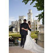 Свадьба в Чешском замке Глубока над Влтавой фото