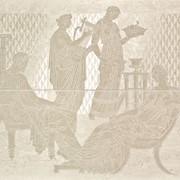 Панно Serenissima (из 2-х пл.) 59x48 Comp. Raffaello Cream фото
