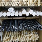 Капролон стержень ф от 20 до 255 мм 800-1000 мм, 0,46 кг фото