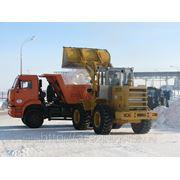 Уборка и вывоз снега. Вывоз снега с погрузкой. Вывоз мусора, Вывоз строительного мусора. фото