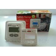 Термостат Raychem NRG-Temp, ЖК дисплей с подсветкой, таймер, регулирование по температуре пола/температуре воз фото