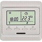 Терморегулятор 51.716 с датчиком температуры пола и воздуха фото