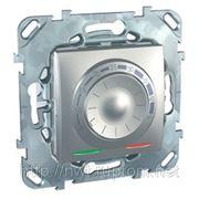 Термостат теплого пола ,выносной термодатчик (алюминий) фото