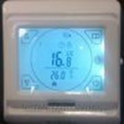 Терморегулятор теплого пола программируемый Е91 фото