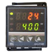 Терморегулятор XMTG-608 (REX-C100), ~85-240В, 0-999 град, 48х48мм фото