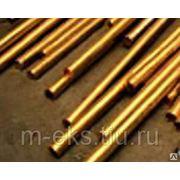 Пруток бронзовый 10,0 300,0 БрАЖ9-4; БрОЦС 555; БрАЖМц 10-3-1,5. фото