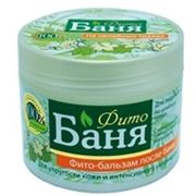 Русское Поле Фито-баня Фито-бальзам для лица и тела после бани на целебных травах Для упругости кожи и интенсивного увлажнения 300мл фото