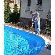 Обслуживание бассейна фото