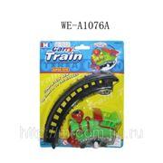 Поезд заводной с рельсами, на блистере, 21х17х4,5см (821574) фото